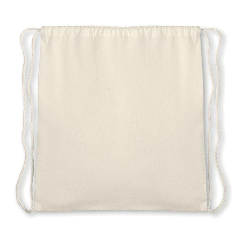 Organic cotton drawstring bag