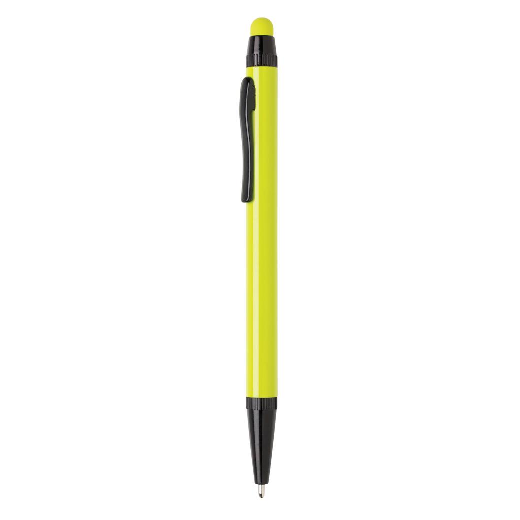 Aluminium slim stylus pen