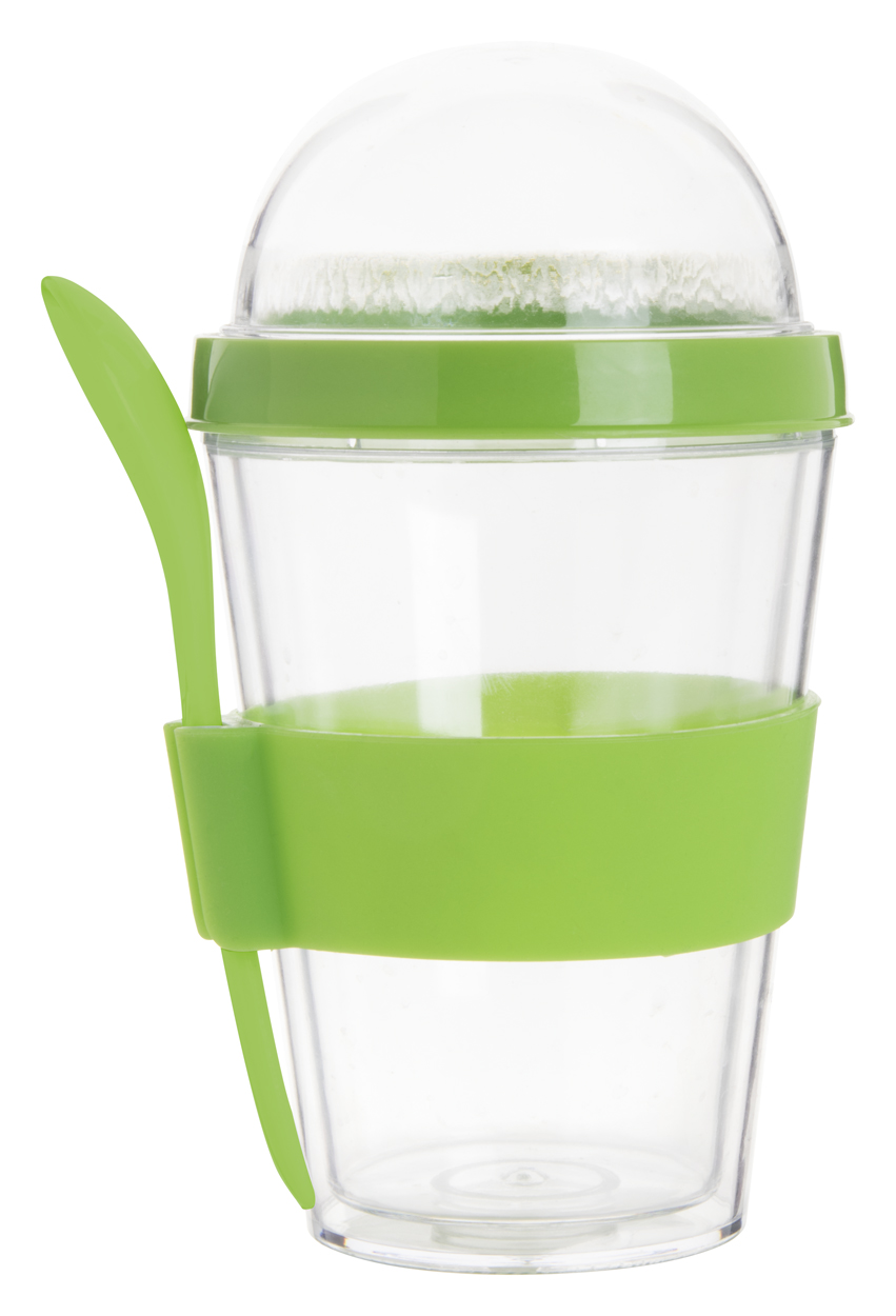 Bircher yoghurt cup