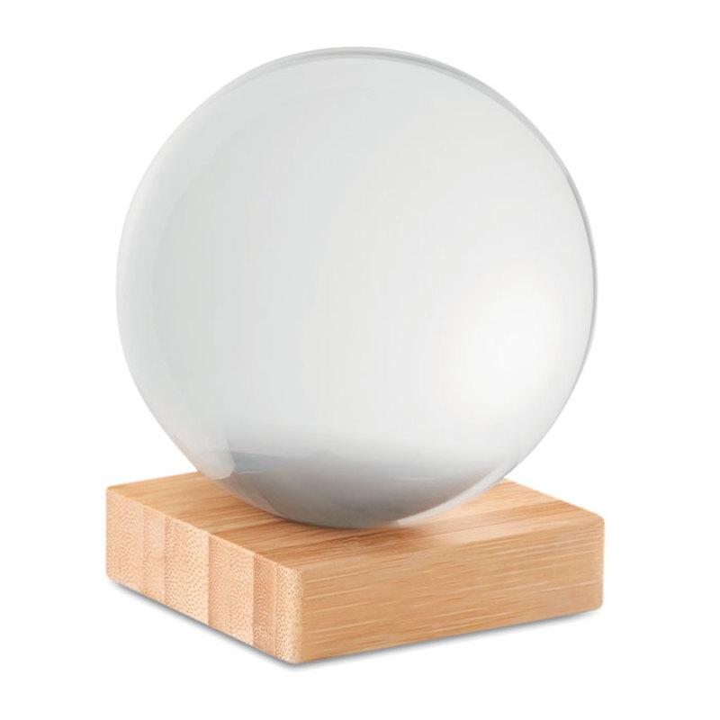 Crystal ball glass