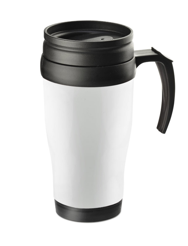 Travel mug CLASSIC COLOR 400 ml