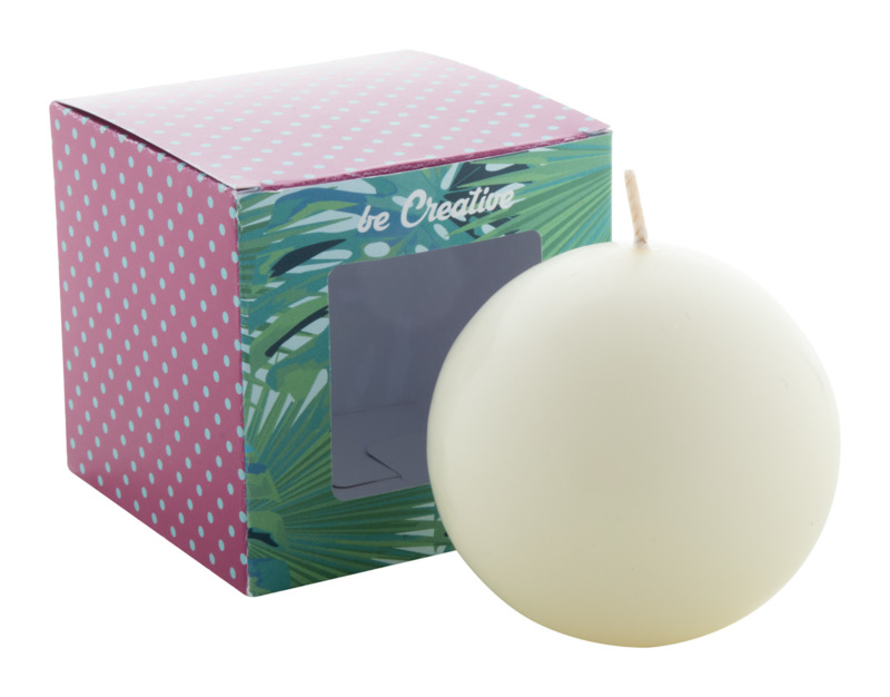 Cosmos ball candle