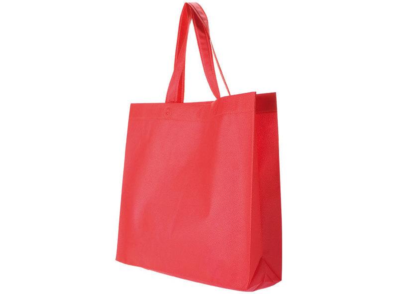 BAG IN TNT RED 38X34X10 cm