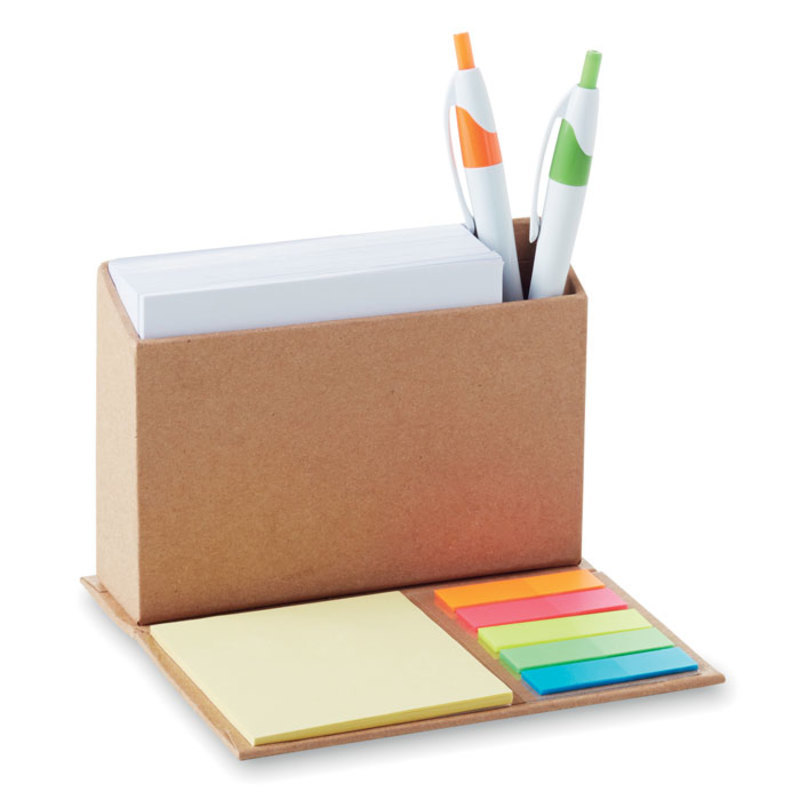 Foldable memo pad holder