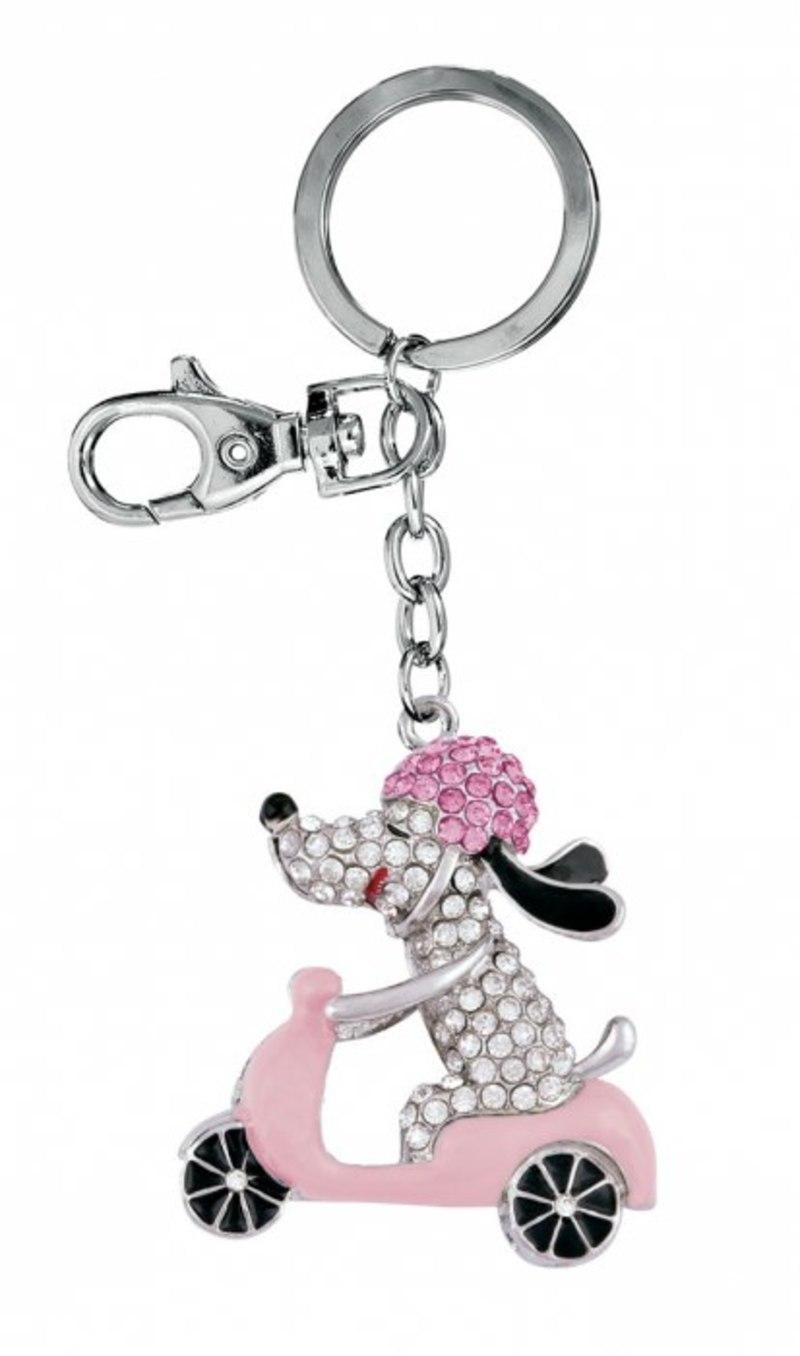 KEY CHAIN DOG SPRINT PINK - NO BOX