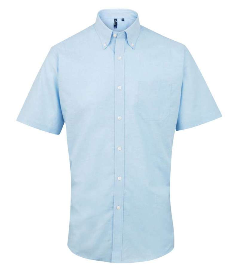 MEN'S SHORT SLEEVE SIGNATURE OXFORD SHIRT