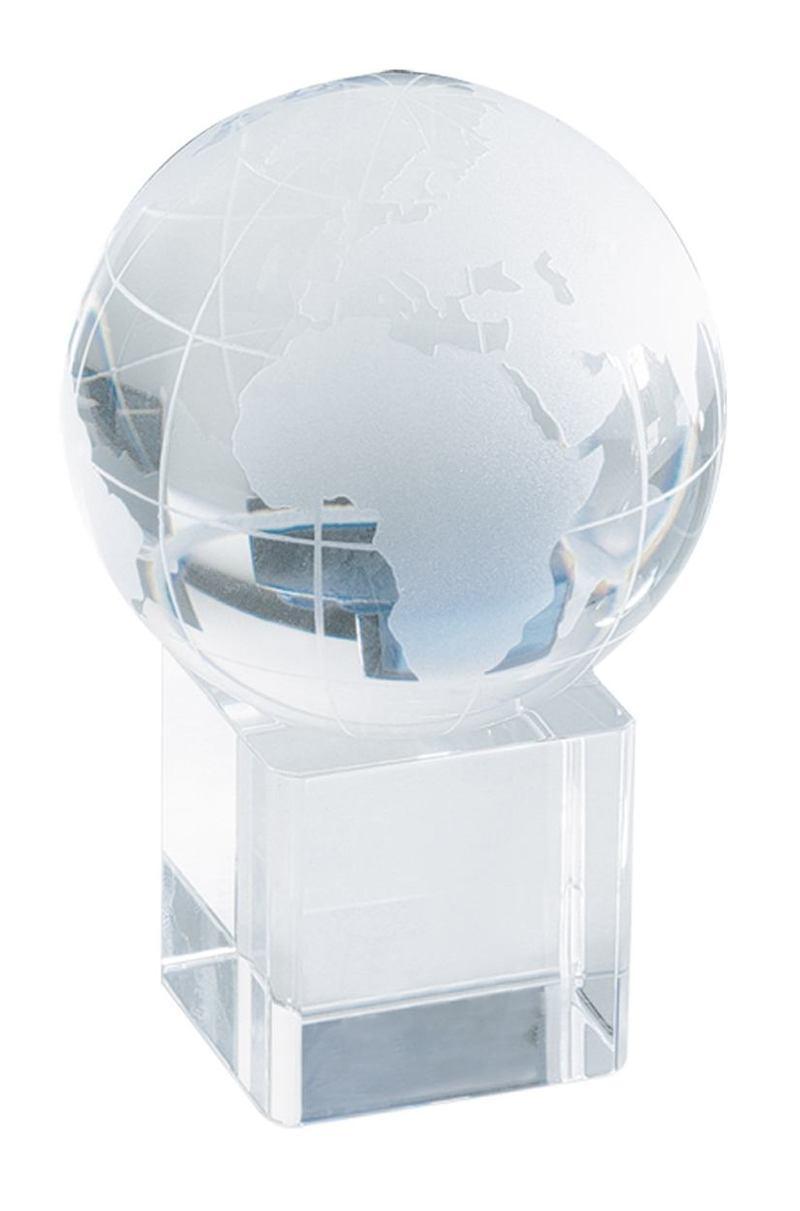 Satelite crystal globe