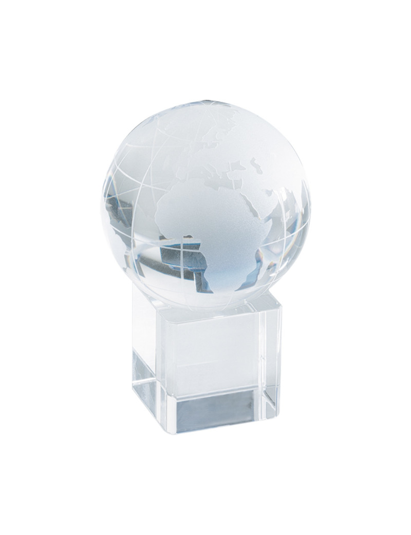 Satelite crystal globe