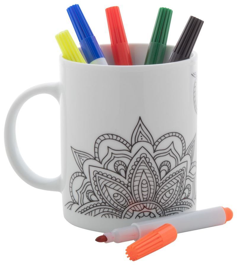 Mandy colouring mug