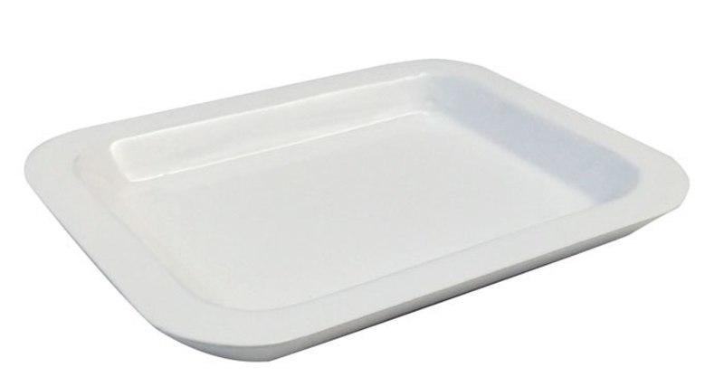 VALET DISH WHITE  105x132,5