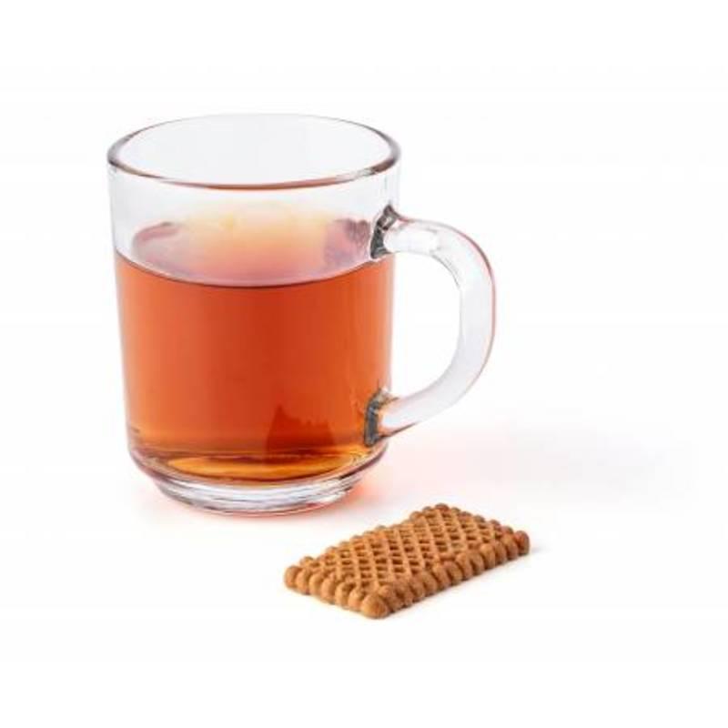 Glass tea mug (260ml).