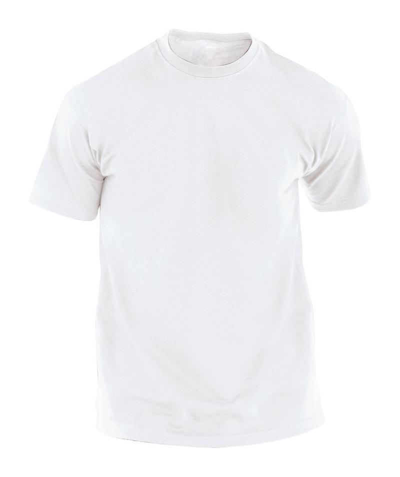 Hecom White white T-shirt