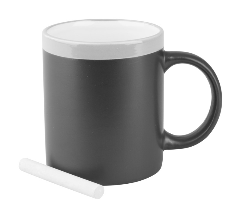 Colorful chalk mug