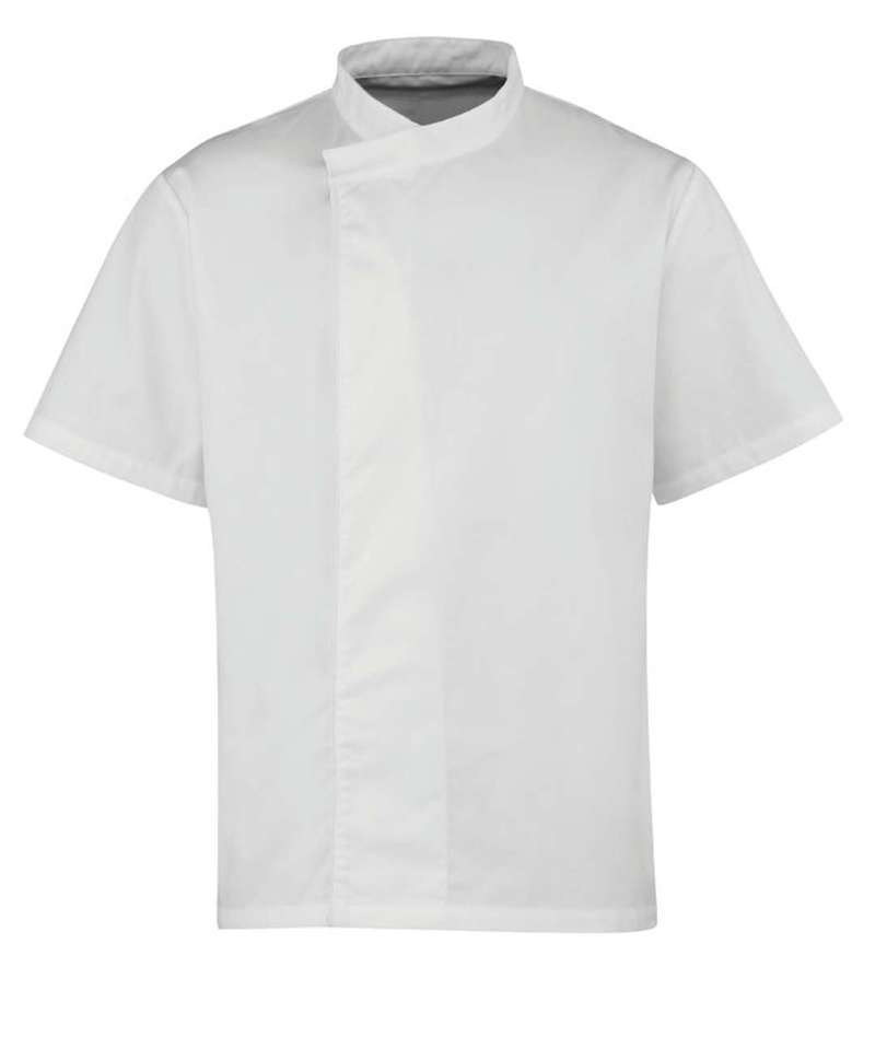 'CULINARY' CHEF'S SHORT SLEEVE PULL ON TUNIC