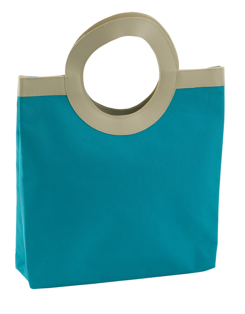 Coral shopping bag