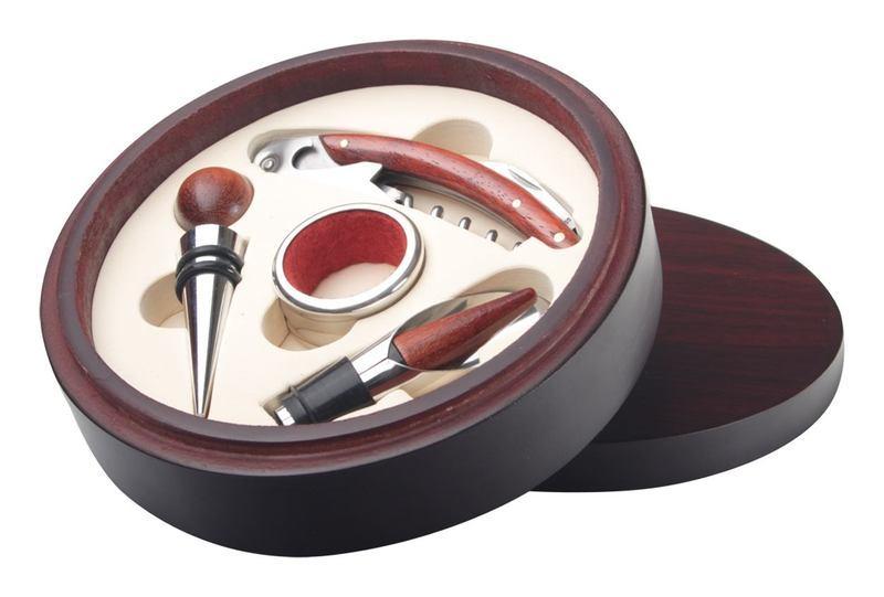Round wine set