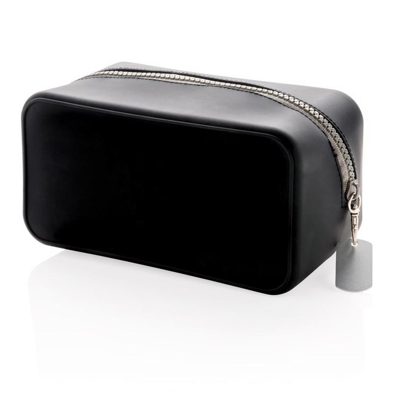 Leak proof silicone toiletry bag