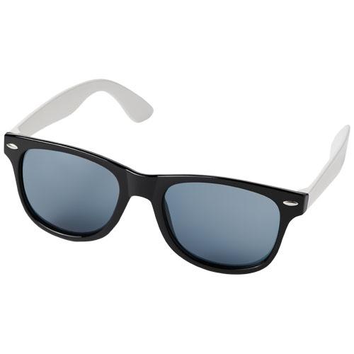 Sun Ray colour block sunglasses