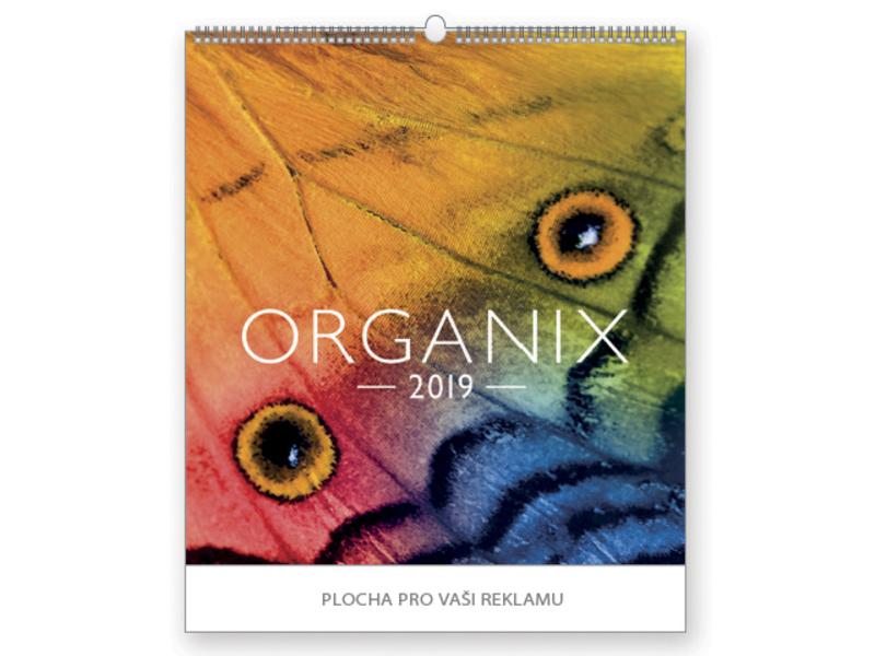 ORGANIX wall calendar, 45x48 cm