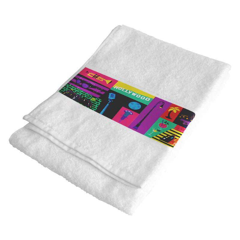 Sublimation hand towel 50x100