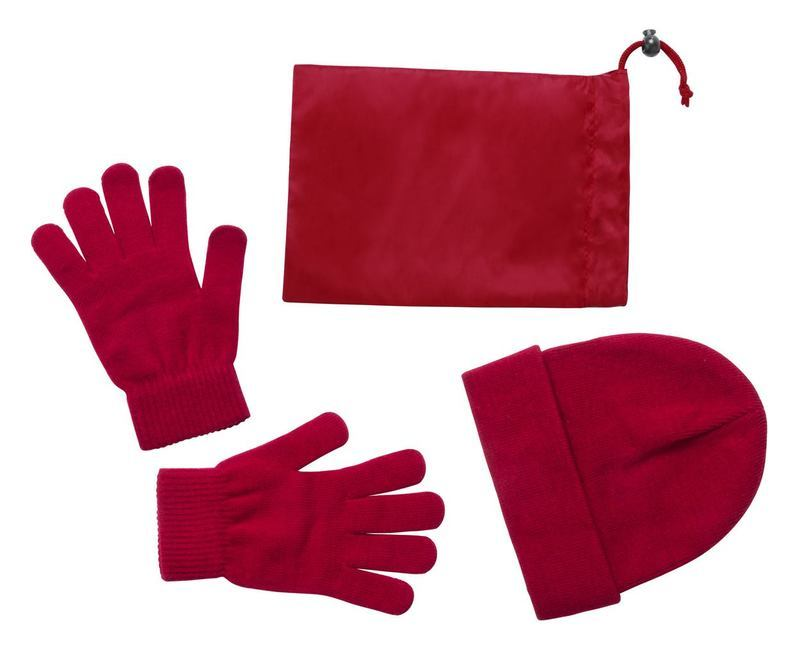 Duvel cap and gloves set