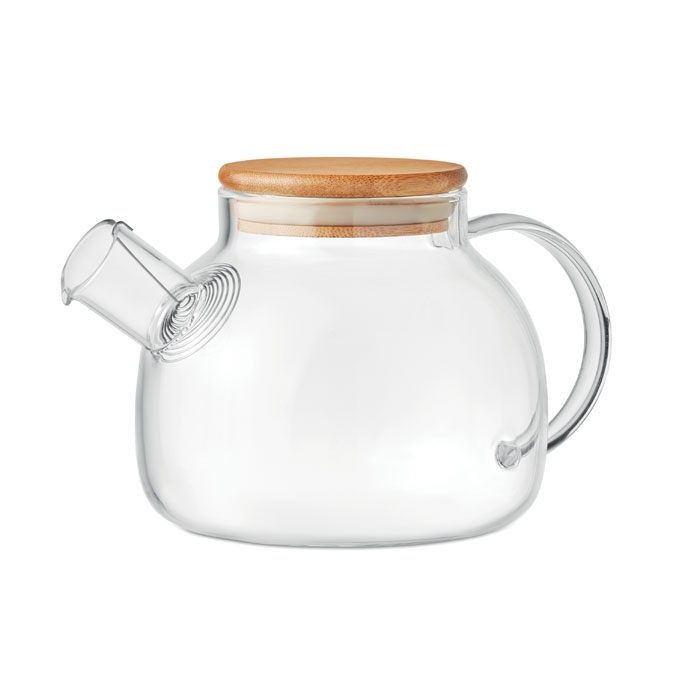 Teapot in borosilicate glass