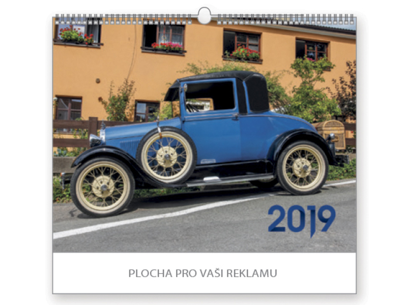 OLD TIMERS wall calendar, 44x34 cm
