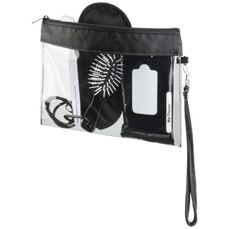 Sid seethrough travel pouch