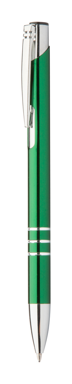Channel Black ballpoint pen