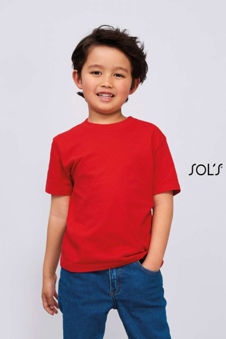 SOL'S IMPERIAL KIDS - ROUND NECK T-SHIRT