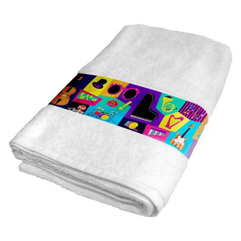 Sublimation bath towel