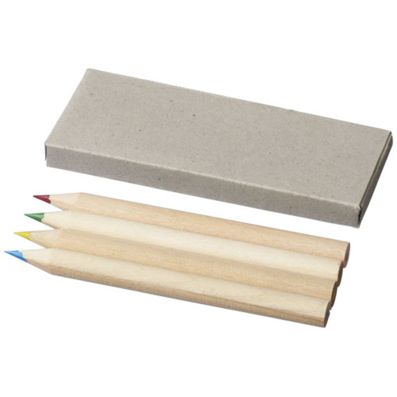 Tullik 4-piece coloured pencil set