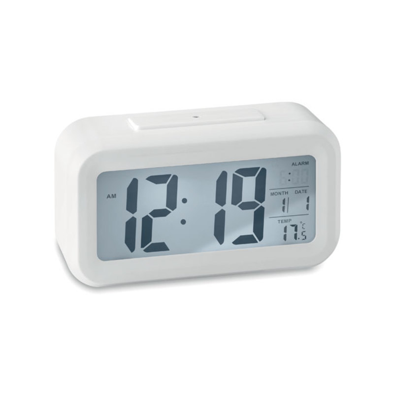 Weather station clock