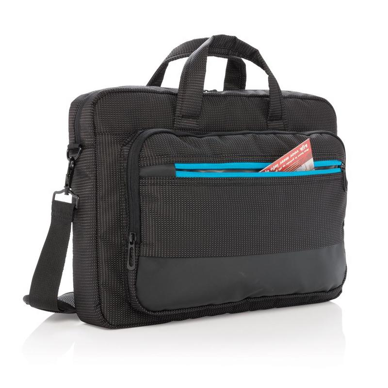 "Elite 15.6"" USB rechargeable laptop bag"