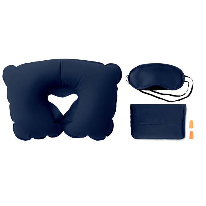 Set w/ pillow, eye mask, plugs