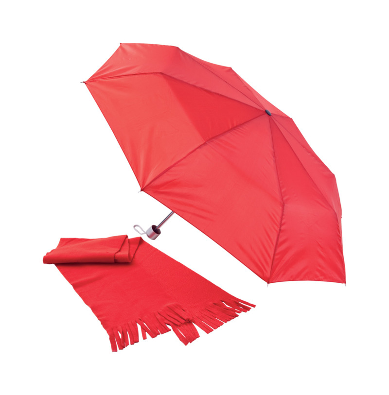 Bitem umbrella&scarf set