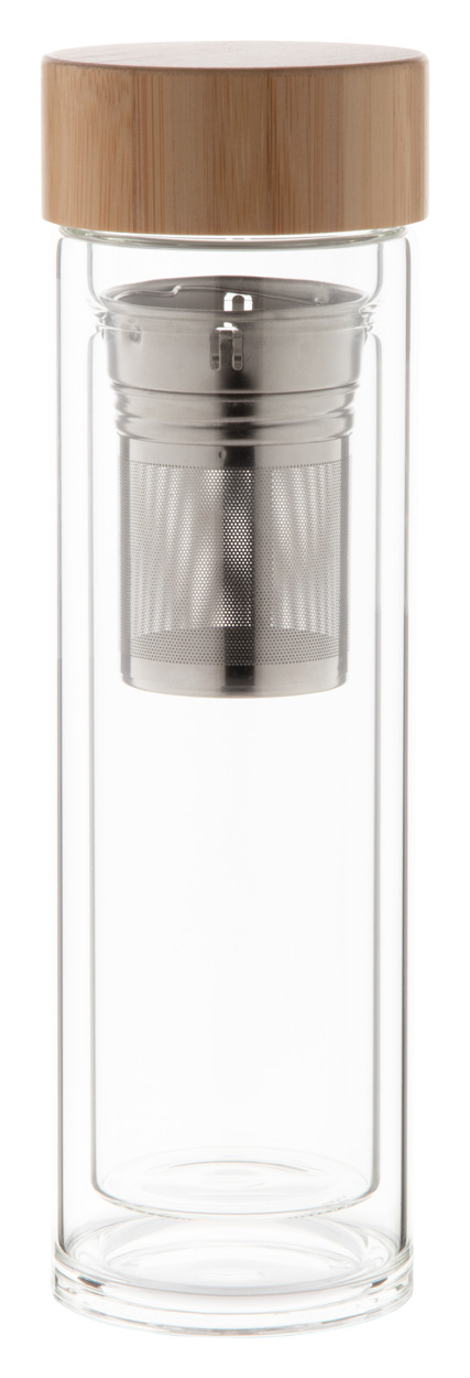 Andina glass thermo bottle