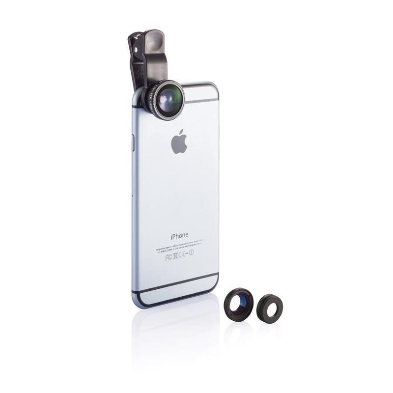 3 pcs mobile device lens set
