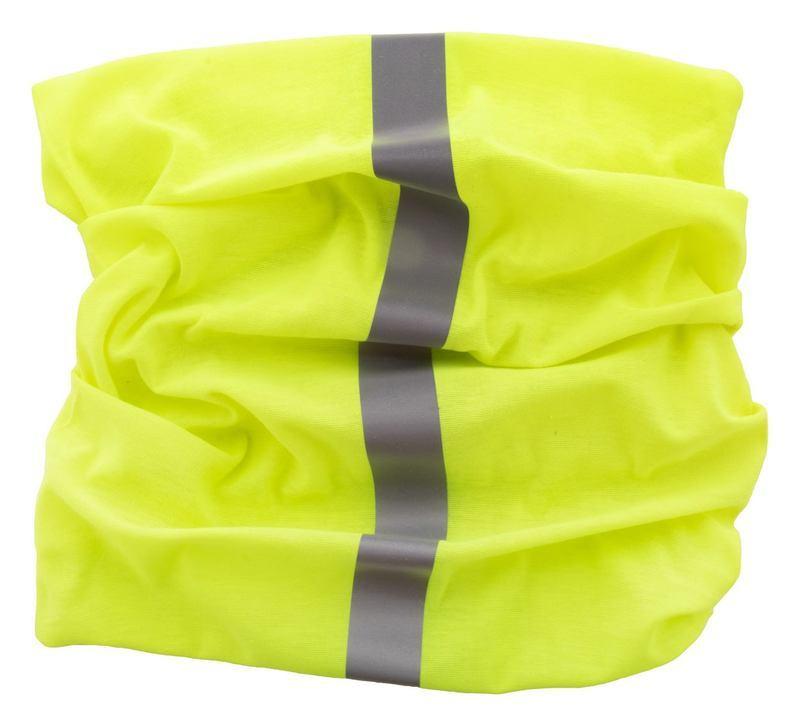 Reflex reflective multi-purpose scarf
