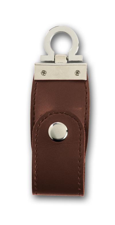 BROWN LEATHER USB MEMORY 16Gb CROWN