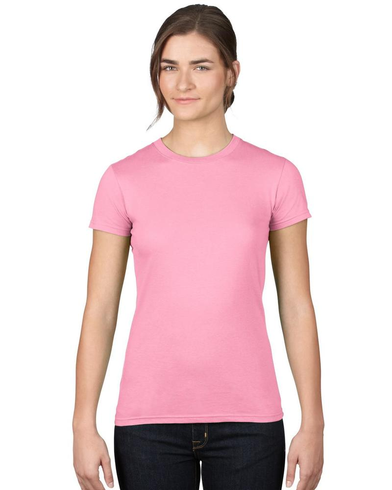 WOMEN'S FASHION BASIC FITTED TEE