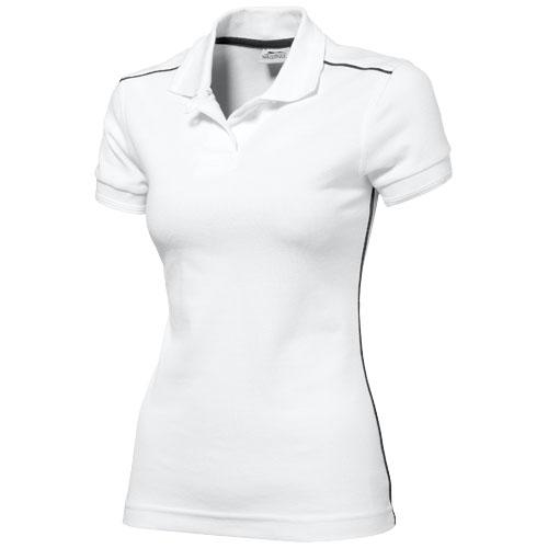 Backhand short sleeve ladies polo