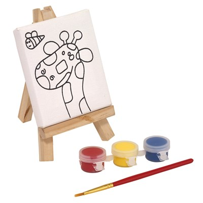 Set pentru pictură BRUSH & EASEL