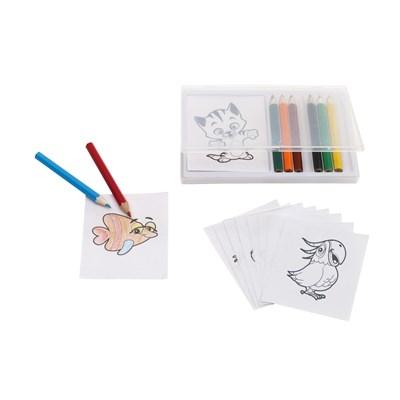 Set colorat CRAZY ANIMALS