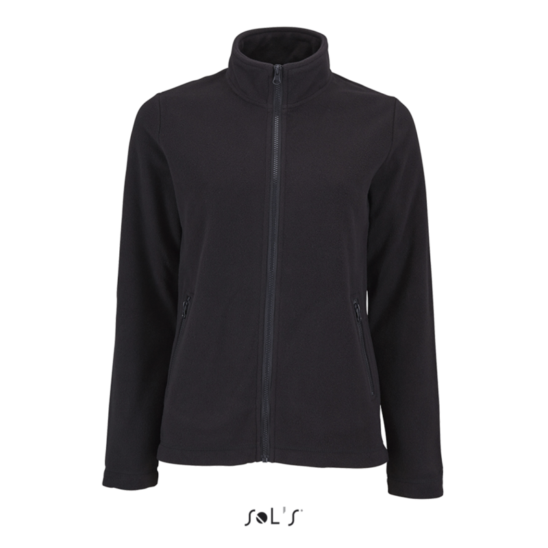 NORMAN - WOMEN'S PLAIN FLEECE JACKET