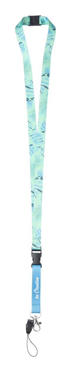 Subyard 15 D Safe RPET custom sublimation lanyard