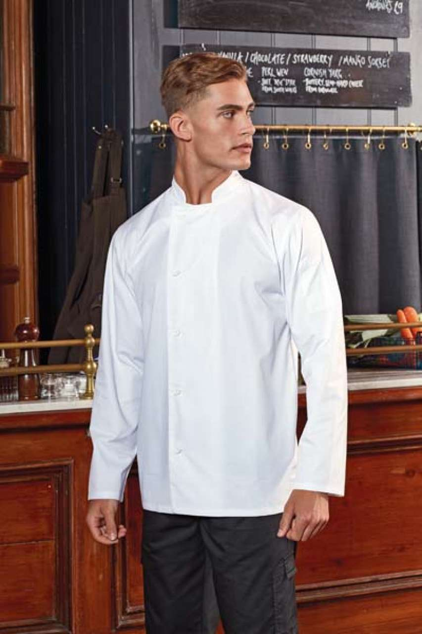 'ESSENTIAL' LONG SLEEVE CHEF'S JACKET