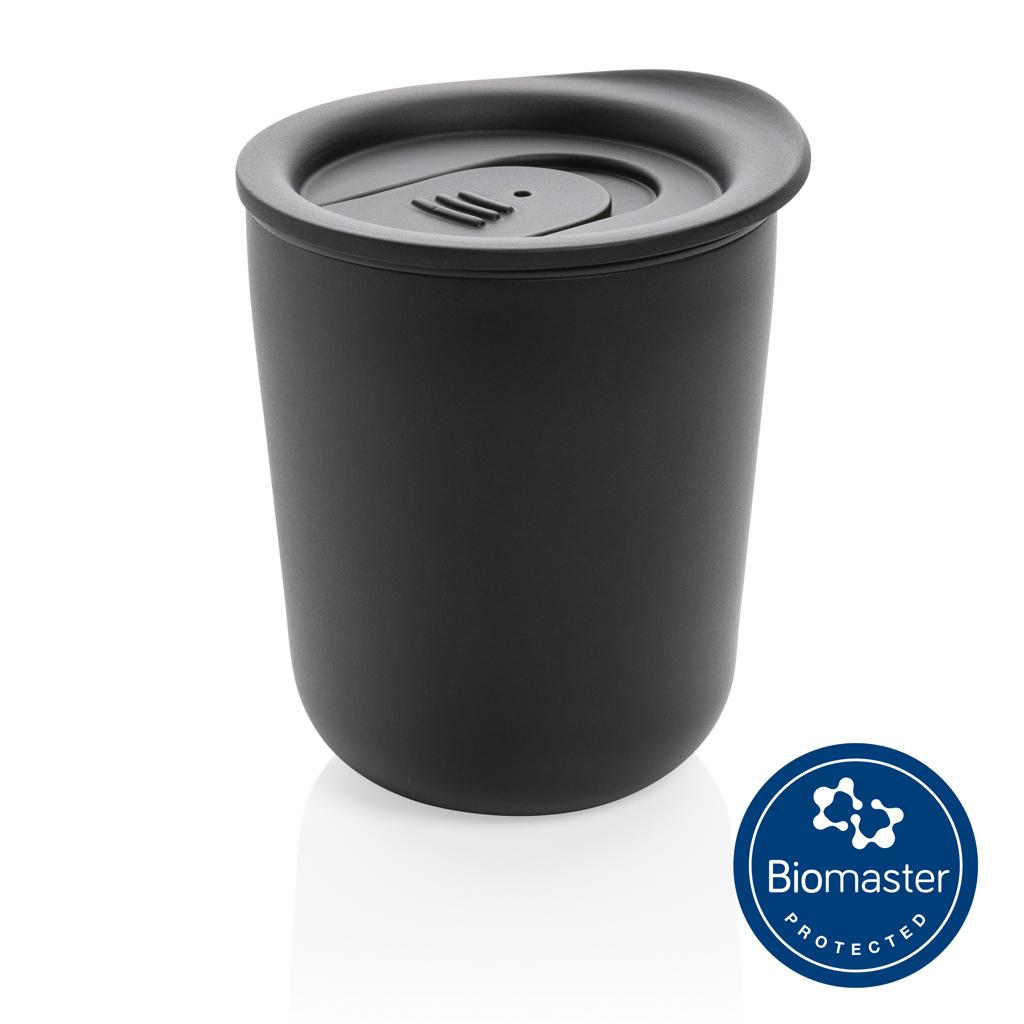 Simplistic antimicrobial coffee tumbler