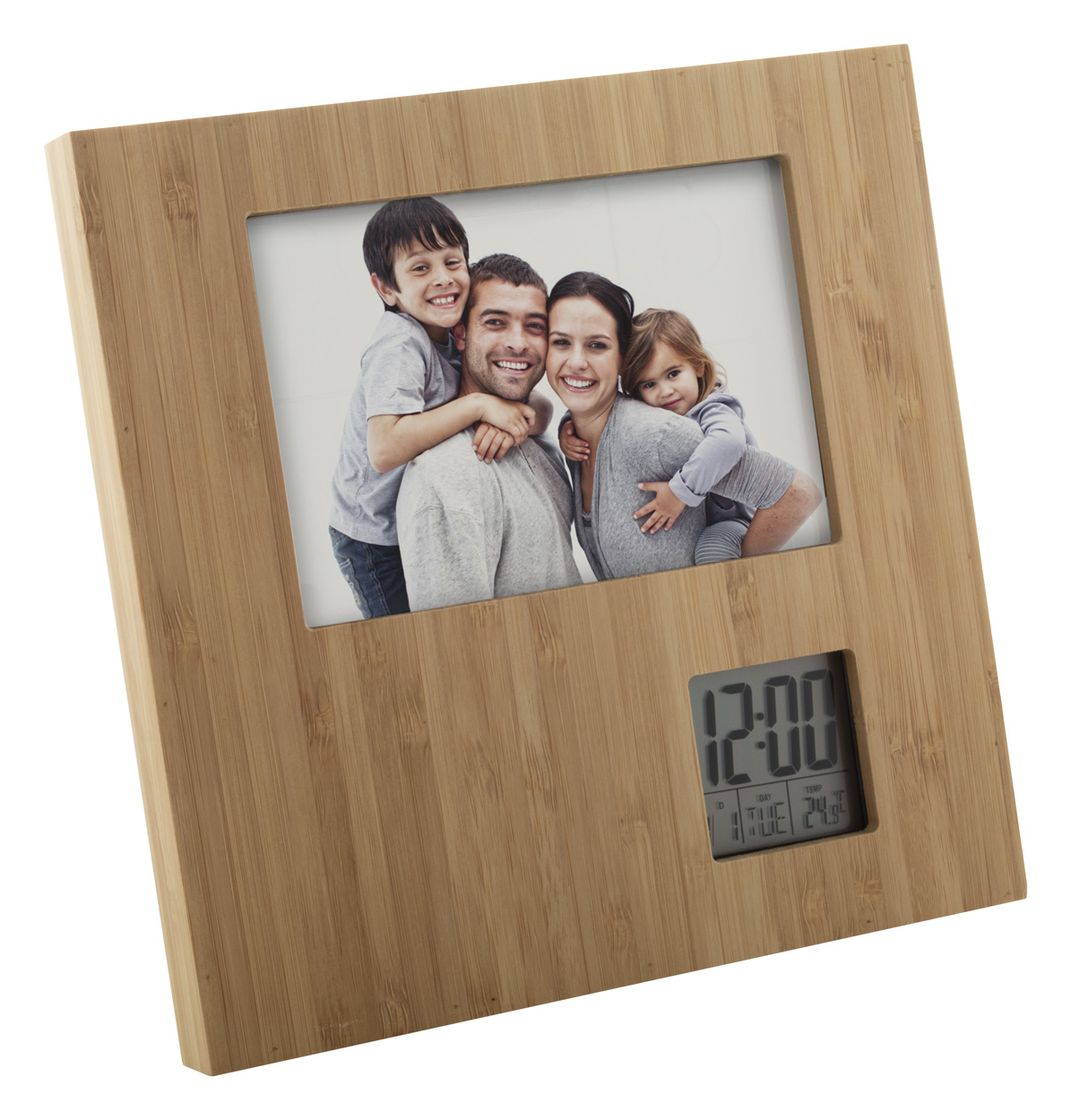 Booframe bamboo photo frame
