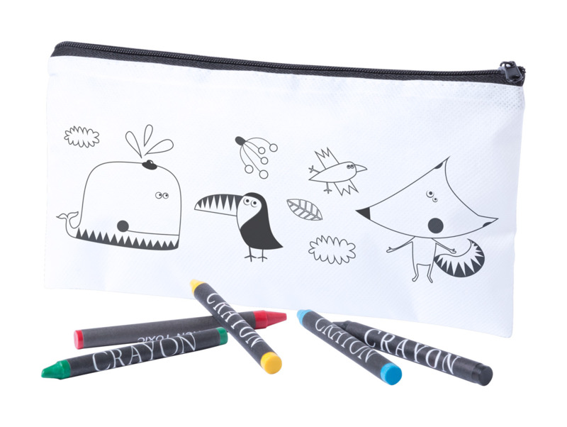 Skinga colouring pen case